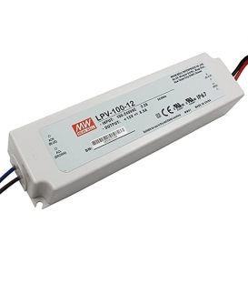 LPV-100-5, 5VDC 12.00A Sabit Voltaj LED Sürücü, Mean Well