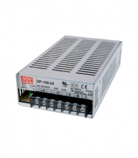 SP-100-48, 48VDC 2.1A PFC 100.8W SMPS, MeanWell