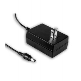 ES18U09-P1J, 9VDC 2.0A 18W Priz Tip Adaptör, Mean Well