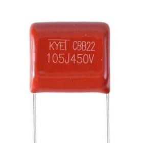 CBB22-105J450V, 1uF 450V Kapasitör