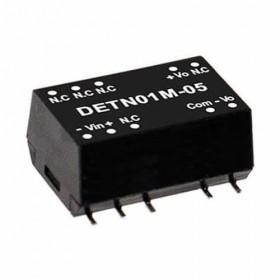 DETN01L-15, 5Vin ±15Vout ±34mA 1W DC/DC SMD Konvertör, MeanWell