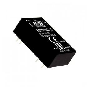 RSDW08G-03, 48Vin 3.3Vout 2000mA 8W DC/DC Konvertör, MeanWell