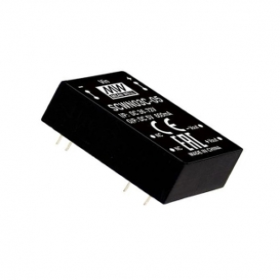 SCWN03C-03, 48Vin 3.3Vout 600mA 3W DC/DC Konvertör, Mean Well