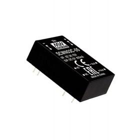 SCWN03C-12, 48Vin 12Vout 250mA 3W DC/DC Konvertör, Mean Well